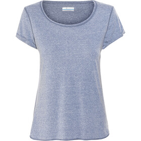 Columbia Trail Shaker Maglia a maniche corte Donna, bluebell heather